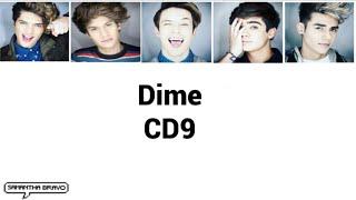 CD9 - Dime (Letra)