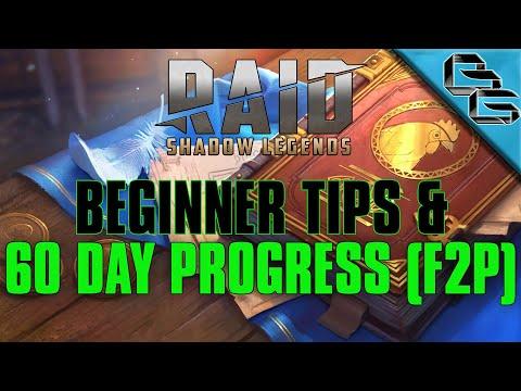 RAID: Shadow Legends | 60 Day Progress + Beginner Tips | FREE Sacred Shard | F2P