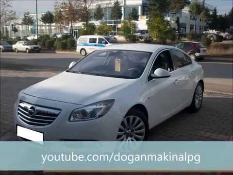 Doğan Makina Opel insignia 2010 Model Prins VSI 2 Otogaz Montajı ve Vafe Care Soğutma Sistemi
