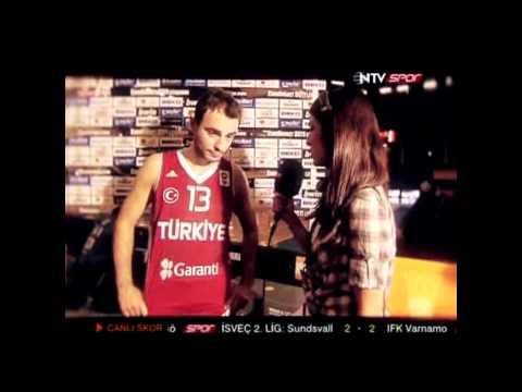 NTV Spor Eurobasket 2011 Yeni Reklam - Kim Soruyor? Be be ben sorucam...