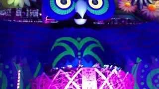 Headhunterz @ EDC Las Vegas 2013 Main Stage (New Track With Krewella)