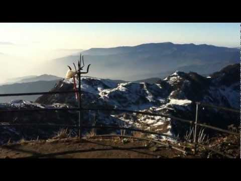 View from Kalinchowk Temple – Dolakha
