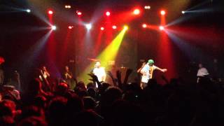 Tyler, The Creator & Hodgy Beats - Turnt Down LIVE At Bataclan, Paris - 02/07/13