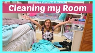 HOW I CLEAN MY BEDROOM