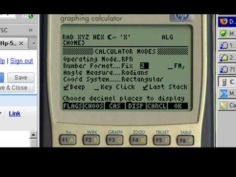 Hp 49g graphing calculator Manual pdf
