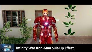 Iron-Man Avengers Infinity War Suit-Up | S03E26