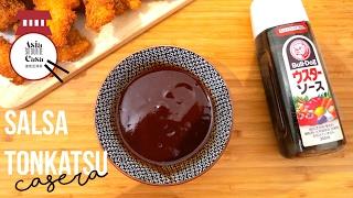Como Hacer Salsa Tonkatsu / How to Make Tonkatsu Sauce