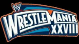 wwe wrestlemania 28 theme song my time by fabolous jeremih2 reg 41990