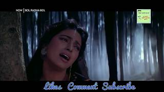 Aaja Na Tere Bin Laage Nahi Song | New Whatsapp Status Video | Bol Radha Bol Movie Song
