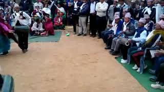 "Magar and Gurung jati ma prachalit maulik ""Nachari"" nritya prastut gardai Syangja Malyangkot.."
