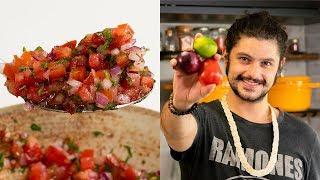 COMO FAZER MOLHO VINAGRETE   Cozinha Básica   Mohamad Hindi