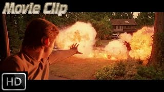 X-Men 2 - Pyro unleashes his power on Police [HD]
