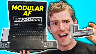 The CRAZY Upgradeable Laptop - Panasonic TOUGHBOOK 55 Showcase