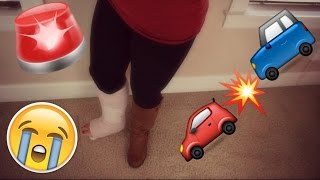 Car Accident Broke My Leg!!! Part 1 | Storytime