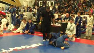 Joe Luna of Cortez Martial Arts WIN via D'Arce Choke