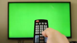 FREE GREEN SCREEN - remote control with green screen [hd]