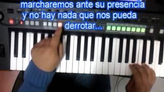 EL SEÑOR MARCHANDO  VÁ - Juan Carlos en el piano