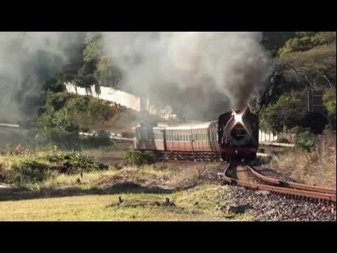 Umgeni Steam Railway SAR Class 3BR No 1486 – 26/06/2011