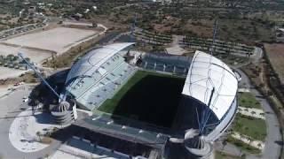 Algarve football stadion Portugal 4k dji phantom 4 pro
