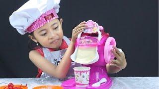 unboxing mainan anak ice cream maker - Make Your Own Ice Cream