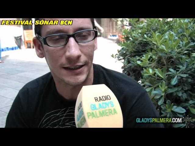 Vídeo de una entrevista a El Timbe realizada en el Sónar.