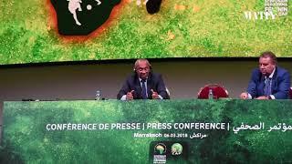 Ahmad Ahmad fait le bilan et parle du soutien du Maroc