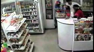 Live Robbery in Shopping Mall captured on CCTV