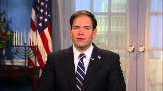 Senator Rubio Marks Hanukkah
