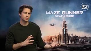 Dylan O'Brien [on his Accident & Girlfriend Britt Robertson] - Death Cure & American Assassin VOSTFR