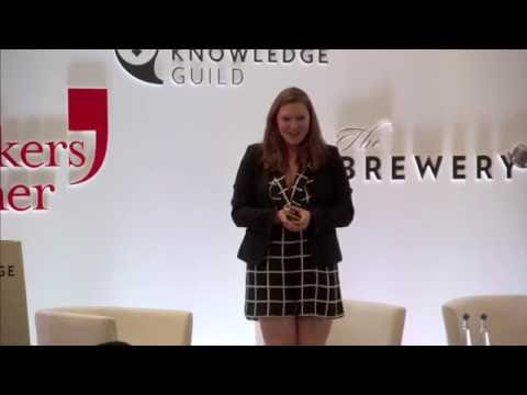 Gemma Milne speaking at The Knowledge Guild 2016 Summer Showcase