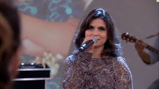 Aline Barros canta Coração de Mãe - Encontro com Fatima Bernades