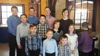 Children sing song, Hear Oh Israel,