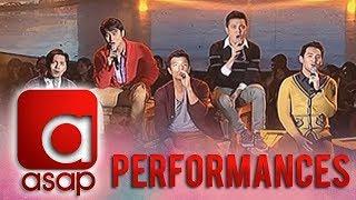 Jericho, JM, Carlo, Bryan & Paolo, serenade ASAP viewers