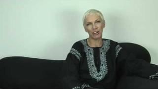Annie Lennox Video Blog - David Gray Duet