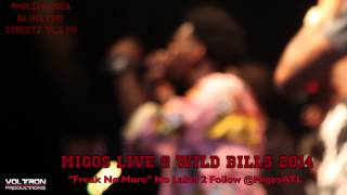 "Migos ""Freak No More"" at Wild Bills 2014 DJ Holiday & Streetz 94.5FM #Holipalooza"