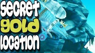 Hungry Shark Evolution - Secret Gold Coins Location