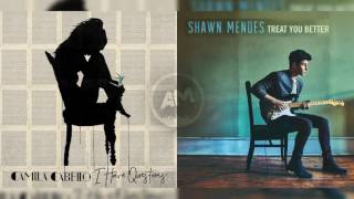 Camila Cabello Vs Shawn Mendes - I have better question (Mashup)