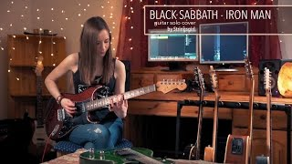 BLACK SABBATH - Iron Man Solo cover video by Stringsgirl