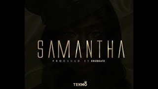 Tekno new music video is out #Samantha#