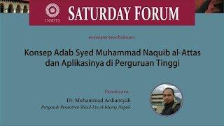 DR.  Muhammad Ardiansyah - Konsep Adab Syed Muhammad Naquib al-Attas width=