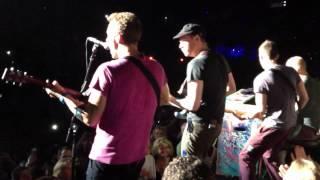 Coldplay @Toronto 2012 Speed of Sound Live