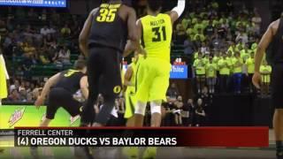 KCEN-Baylor vs #4 Oregon highlights