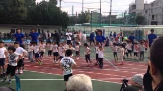 131011タルホとツムギの運動会 準備体操