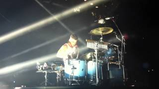 Shannon Leto Drumming 30 Seconds to Mars @Sacramento Kings and Queens