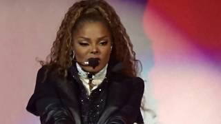 Janet Jackson - Intro + The Knowledge  (LIVE) -  STATE OF THE WORLD TOUR - LAFAYETTE, LA 9/7/2017