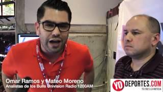 Chicago Bulls en español con Omar Ramos Mateo Moreno