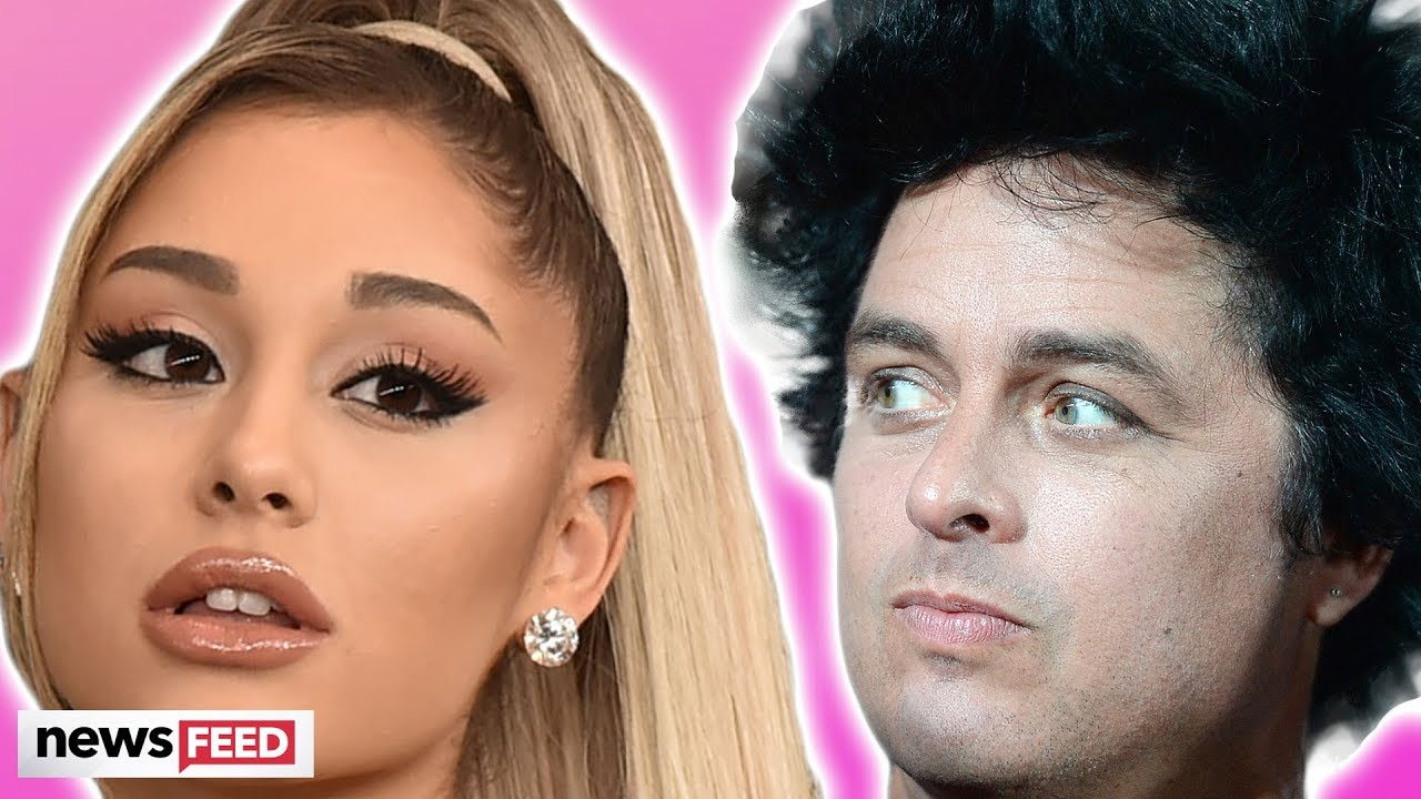 Ariana Grande shaded by Green Day Singer!!!