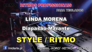 ♫ Ritmo / Style  - LINDA MORENA  - Diapasão-Marante