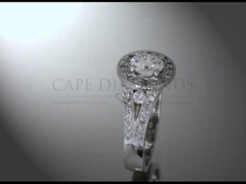 Complex stone ring,round diamond,round fitting,band with round diamonds,engagement ring