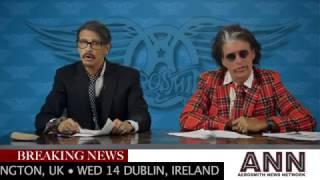 Aerosmith News Network: Aero-Vederci Baby! European tour announced